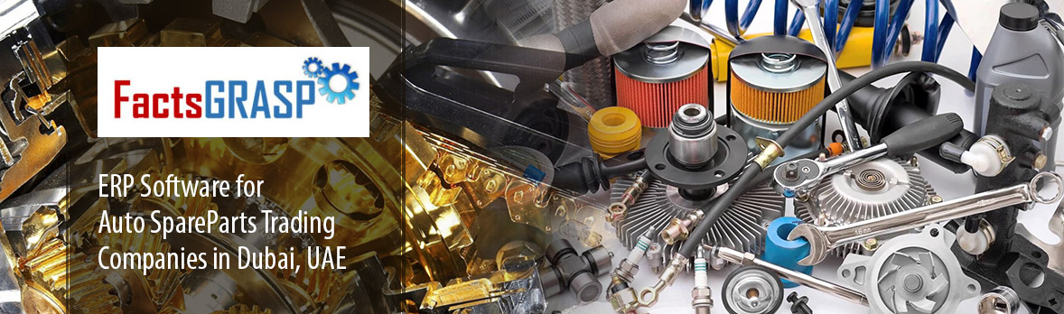 ERP Software for Auto Spare Parts companies in Dubai, UAE