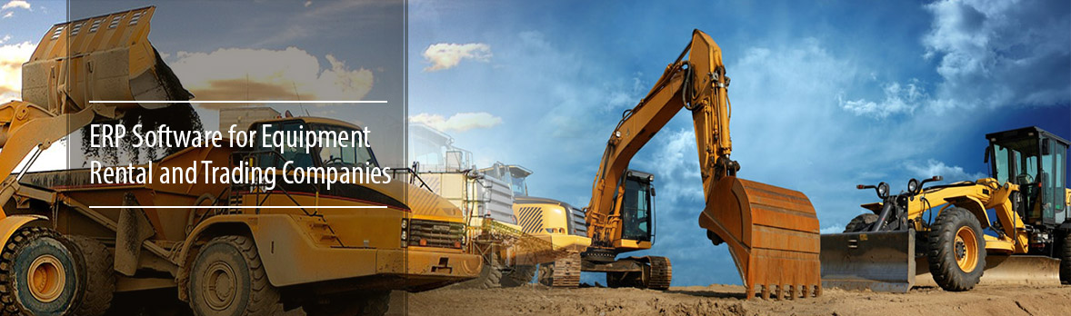Equipment Rental Erp Software Erp For Equipment Rental