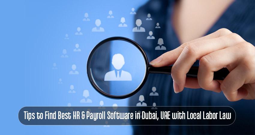 best HR & payroll software in Dubai