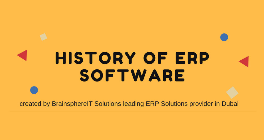 erp software history