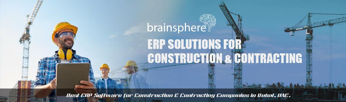 Construction ERP Software Ras Al Khaimah, ERP for